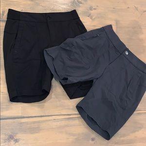 Athleta size 0 above the knee shorts bundle
